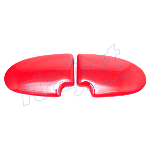 Seat Bum Pads Gloss Red