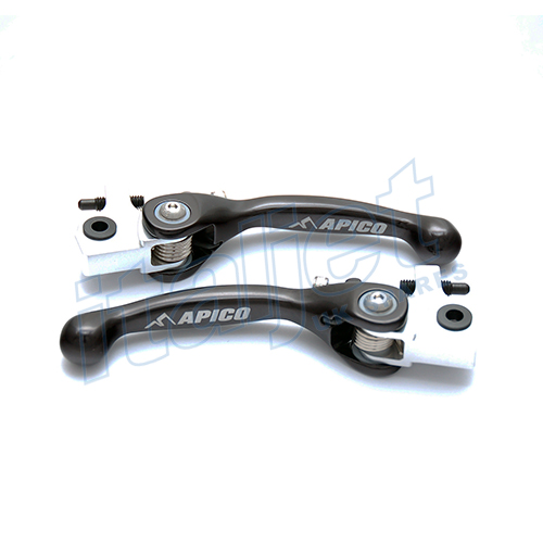 Brake Lever Pair Flexi Black