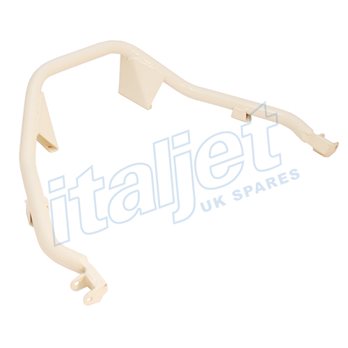 Passenger Footrest Bracket Cream