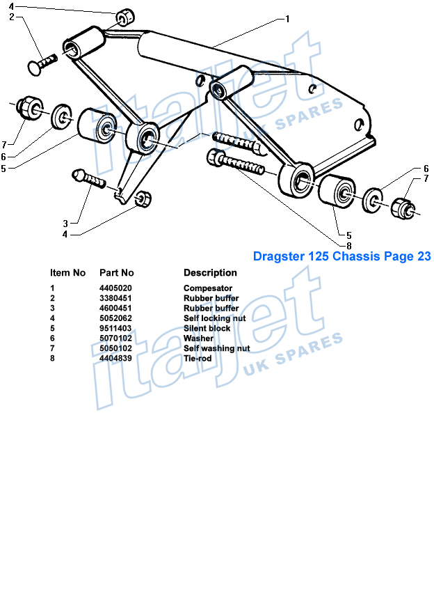 Dragster Chassis
