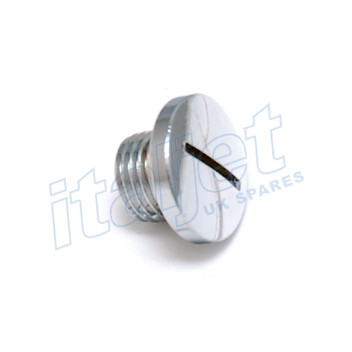 Oil Inspection Plug Chrome