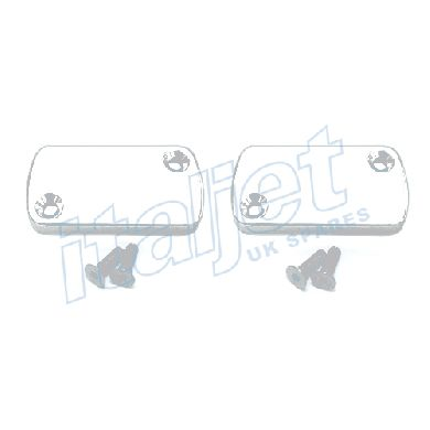 Brake Master Cylinder Covers White