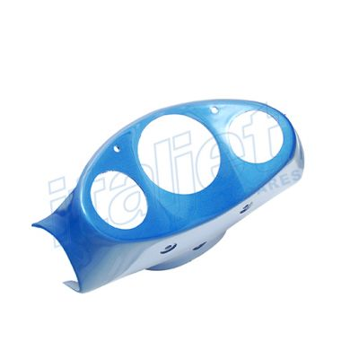 Instrument Panel Metallic Blue