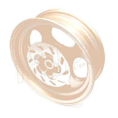 Rear Wheel Gold LC