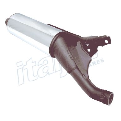 Exhaust Silencer Upper