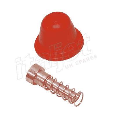 Brake Master Cylinder Boot Kit Red AJP