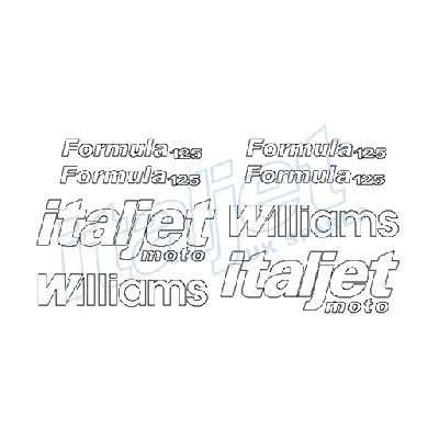 Sticker Kit Williams Logos