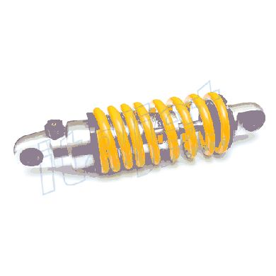 Front Shock Pro-Tech Yellow 50cc