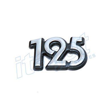 125cc Solid Sticker 40mm