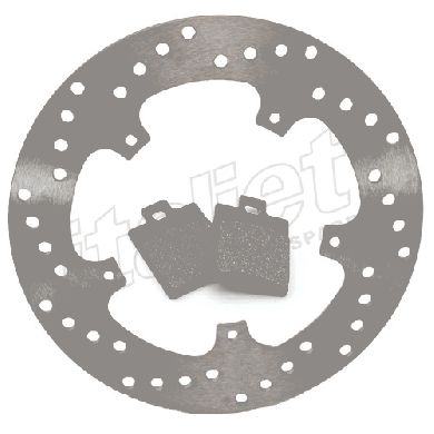 Rear Brake Disc Kit Grimeca