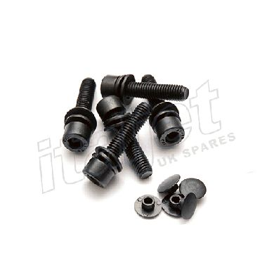 Wheel Bolt Kit Stainless Black